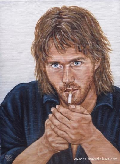 Roy Dupuis by artistichideaway